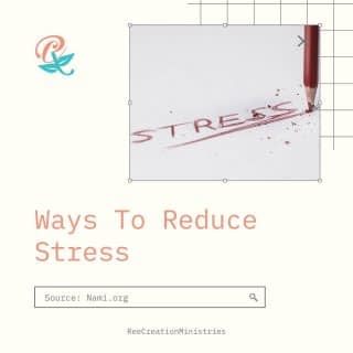 Today is National Stress Awareness Day. Learning how to navigate stressful situations in a healthy way will make a huge impact on your mental, physical, emotional, and even spiritual well being  Which of these tips have you tried or do on a regular basis? Is there one you would like to add to this list? . . . . #StressAwarenessMonth #ReduceStress #CopingWithStress #ManagingStress #MentalHealthAwareness #FaithAndMentalHealth #LifeWithPurpose #DreamCreateInspire #ReeCreationMinistries #MentalWellness #EmotionalWellness #SpiritualWellness #PhysicalWellnessicalWellness