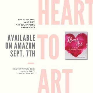 Just ONE MORE DAY till Heart to Art: A 30-Day Art Journaling Experience is available on AMAZON!  Please join me tomorrow for a Virtual Book Launch Party right inside my Facebook page.  There will be some games and giveaways, a guest interview with Author and Founder of Beautifully Broken x3 Kimberly Smith, followed by an art demo from the book.  See link in bio to join the virtual party!   #HealingThroughArt #HeartToArt #HeartToArtBook #BookLaunch #HeartToArtVirtualBook Launch #HeartToArtBookLaunch #TherapeuticArt #ArtTherapy #TraumaHealing #HealingJourney #NewHope #HopeForNewBeginnings #Depression #Anxiety #ChristianMentalHealth #LifeWithPurpose #FaithAndMentalHealth #FatithAndMentalHealthJourney #MentalHealthAwareness #IdentityInChrist #DreamCreateInspire #ReeCreationMinistries #ChristianLiving #ChristianWomenBloggers #christianwomenbloggersofinstagram #ChristianEncouragement #ChristianInspiration #FaithJourney #FaithInspired