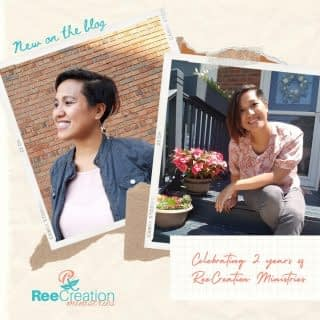 *NEW BLOG POST*  This month I'm celebrating ReeCreation Ministries' 2 Year Anniversary!!!  This year was certainly a challenge in its own way. God has stretched me beyond my imagination. He's opened doors and opportunities I could not even have planned myself, from getting trained on trauma healing to speaking at women's groups, and now publishing a book. It all makes me so excited to see what this next year holds.   To the people who sat with me in the trenches, thank you for your love and compassion. To my prayer warriors and supporters, thank you for your encouragement that keeps me going. To the women who shared your stories with me, and let me walk with you on your journeys these last couple of years - THANK YOU for your trust! I truly pray this is just the beginning of many more healing journeys ahead for all of us!  I shared some reflections of the last two years in a new blog post you can read here https://reecreationministries.com/my-two-year-blog-anniversary/ (or see link in bio). . . . . #2YearBlogAnniversary #2YearMinsitryAnniversary #HeartToArtBook #HeartToArtBookLaunch #FaithAndMentalHealth #MentalHealthAwareness #Depression #Anxiety #HealingThroughArt #HealingJourney #HopeForNewBeginnings #TherapeuticArt #ArtTherapy #TraumaHealing  #NewHope #ChristianMentalHealth #LifeWithPurpose #DreamCreateInspire #ReeCreationMinistries #ChristianWomenBloggers #christianwomenbloggersofinstagram #ChristianEncouragement #ChristianInspiration #FaithJourney #FaithInspired
