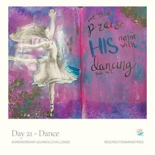 One Word Art Journal Challenge Day 21: Dance  Was there a talent or a skill you wished you had?   That's what dance is for me. I love the way dancers can freely express themselves and their emotions through their movements. They can even convey beautiful stories through the art form.  . . . . #OneWordArtJournalChallenge #HeartToArt #Sketchbook #SpringJournal #Journaling #BulletJournals #ArtJournals #LinedJournal #PrayerJournals #PrayerJournal #FaithJournaling #ChristianJournal #ChristianJournals #GratitudeJournal #MentalHealthJournal #WomenJournal #JournalChallenge #AmazonKDP #FaithAndMentalHealth #MentalHealthAwareness #Depression #Anxiety #ChristianMentalHealth
