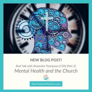 *New Blog Post*  In an interview with @alexandrathompson_lcsw director and therapist at @cumberlandcounseling, we discussed the role churches can have on mental health.  If you are interested to learn more about what your church can do around mental health - or considering starting a counseling center within your church - check out what Alexandra has to say on the blog.  https://reecreationministries.com/mental-health-and-the-church (See link in bio) . . . . #MentalHealthAndTheChurch #FaithAndMentalHealth #MentalHealthAwareness #Depression #Anxiety #ChristianMentalHealth #LifeWithPurpose #IdentityInChrist #DreamCreateInspire #ReeCreationMinistries #ChristianLiving #ChristianEncouragement #ChristianInspiration #FaithJourney #FaithInspired  #FaithWriters #ChristianWomenBloggers #christianwomenbloggersofinstagram  #ChristianBlog #ChristianPosts #BibleTruth #BibleStudy