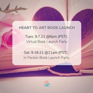 It's getting real! The book launch is just 4 WEEKS AWAY!!!!  I would love to have you be part of the celebration for the release of my upcoming book, Heart to Art: A 30 Day Art Journaling Experience.  I've got a Virtual Book Launch planned for Tuesday, September 7th (The official book release day). There will be door prizes, virtual art activities, and more.  For those local (San Jose / Bay Area) I'm having an in-person Book Launch Party planned for Saturday, September 18th. Come for some treats, giveaways, art activities, and connect with old and new friends.  It would be a joy to have you join me at one or both of these celebrations. Let me know in the comments which one you can attend and Tag a friend that you'd like to come along with you. The more the merrier!!!  Visit my Heart To Art Book Launch group for more information and details. (see link in bio) . . . . #BookLaunchParty #VirtualBookLaunch #HeartToArtBookLaunch #TherapeuticArt #ArtTherapy #TraumaHealing #HealingJourney #NewHope #HopeForNewBeginnings #Depression #Anxiety #ChristianMentalHealth #LifeWithPurpose #FaithAndMentalHealth #FatithAndMentalHealthJourney #MentalHealthAwareness #IdentityInChrist #DreamCreateInspire #ReeCreationMinistries #ChristianLiving #ChristianWomenBloggers #christianwomenbloggersofinstagram #ChristianEncouragement #ChristianInspiration #FaithJourney #FaithInspired #BibleTruth #BibleStudy #ChristianBlog #ChristianPosts