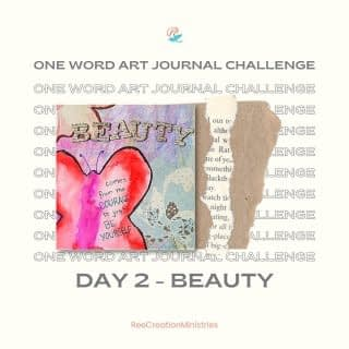 #OneWordArtJournalChallenge Day 2: Beauty  This is a piece of my art journal. How do you define beauty?  For those doing the challenge with me - be sure to tag me in your posts so I can see your creations.  Also, tag someone in the comments who you think would enjoy art journaling. . . . . #OneWordArtJournalChallenge #HeartToArt #Sketchbook #SpringJournal #Journaling #BulletJournals #ArtJournals #LinedJournal #PrayerJournals #PrayerJournal #FaithJournaling #ChristianJournal #ChristianJournals #GratitudeJournal #MentalHealthJournal #WomenJournal #JournalChallenge #AmazonKDP #FaithAndMentalHealth #MentalHealthAwareness #Depression #Anxiety #ChristianMentalHealth