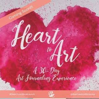 Just 2 more weeks till Heart to Art: A 30-Day Art Journaling Experience LAUNCHES!!!!!!  I'm both excited and a little nervous at how close it's getting. My heart and prayer for this book are that it will help people explore the depths of their hearts and get in touch with their emotions in a creative manner. I pray it will allow them to be open to just feel what they're feeling and find a safe way to express it. My heart is for people to discover the creative healing journey that comes from art.  If that sounds like something you'd be interested in I would love to invite you to my Heart To Art Virtual Book Launch on Tuesday, Sept. 7th (see link in bio)  . . . . #HealingThroughArt #HeartToArt #HeartToArtBook #BookLaunch #VirtualBook Launch #HeartToArtBookLaunch #TherapeuticArt #ArtTherapy #TraumaHealing #HealingJourney #NewHope #HopeForNewBeginnings #Depression #Anxiety #ChristianMentalHealth #LifeWithPurpose #FaithAndMentalHealth #FatithAndMentalHealthJourney #MentalHealthAwareness #IdentityInChrist #DreamCreateInspire #ReeCreationMinistries #ChristianLiving #ChristianWomenBloggers #christianwomenbloggersofinstagram #ChristianEncouragement #ChristianInspiration #FaithJourney #FaithInspired #BibleTruth