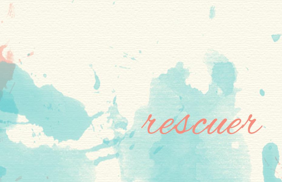 Rescuer: Spoken Word
