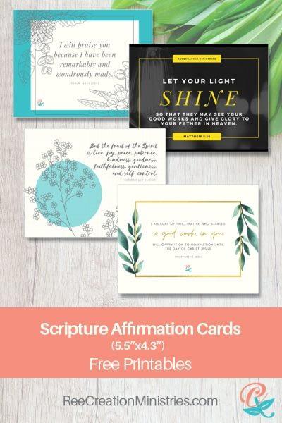 Scripture Affirmation Cards