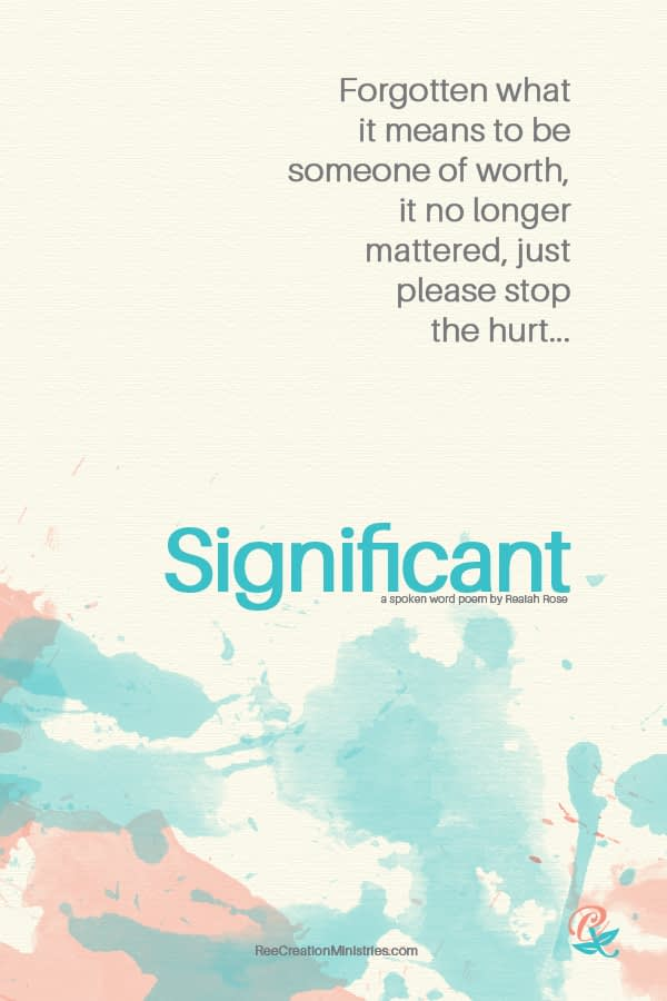 Significant: Spoken Word