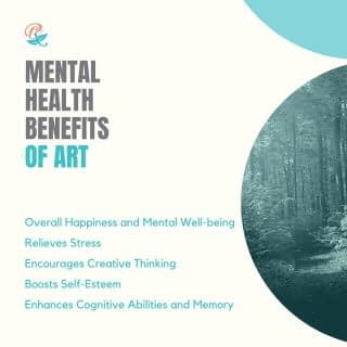 In addition to just being fun, there are many reasons to engage in art, including these mental health benefits:  Overall  Happiness and Mental Well-being Relieves Stress Encourages Creative Thinking and Imagination Boosts Self-Esteem Enhances Cognitive Abilities and Memory  Have you seen these benefits for yourself? In what ways are you engaging in art?  I would love to invite you to my Heart To Art Collective Facebook group (see link in bio) where we not only discuss these benefits of art but also have a chance to practice and express our creative side. . . . .  #BenefitsOfArt #MentalHealthBenefitsOfArt #HealingThroughArt #HeartToArt #HeartToArtBook #BookLaunch #VirtualBook Launch #HeartToArtBookLaunch #TherapeuticArt #ArtTherapy #TraumaHealing #HealingJourney #NewHope #HopeForNewBeginnings #Depression #Anxiety #ChristianMentalHealth #LifeWithPurpose #FaithAndMentalHealth #FatithAndMentalHealthJourney #MentalHealthAwareness #IdentityInChrist #DreamCreateInspire #ReeCreationMinistries #ChristianLiving #ChristianEncouragement #ChristianInspiration #FaithJourney #FaithInspired