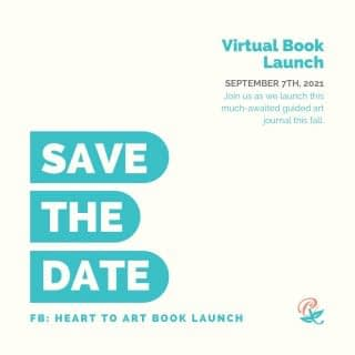 It is getting closer! Just 6 WEEKS TILL LAUNCH!  Save the date for Tuesday, September 7th, 2021 for a Virtual Book Launch!  Be part of the Book Launch Team to get early notifications, sneak peeks, guest expert training, tutorials, and more. Join my Heart To Art Book Launch Team (see link in bio) and tag a friend in the comments who you want to be part of this launch party with you. . . . . . #LifeWithPurpose #FaithAndMentalHealth #MentalHealthAwareness #HeartToArt #HeartToArtBook #HeartToArtBookLaunch #TherapeuticArt #ArtTherapy #TraumaHealing #NewHope #HopeForNewBeginnings #Depression #Anxiety #ChristianMentalHealth #IdentityInChrist #DreamCreateInspire #ReeCreationMinistries #ChristianLiving #ChristianWomenBloggers #christianwomenbloggersofinstagram #ChristianEncouragement #ChristianInspiration #FaithJourney #FaithInspired #BibleTruth #BibleStudy #ChristianBlog #ChristianPosts