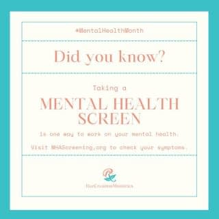 One of the ways you can take care of your mental health is by taking a Mental Health Screen. It's free, confidential, and anonymous.  You can visit MHAscreening.org (or see the link in bio) to check your symptoms. Once you have your results, MHA will give you information and resources to help you with your next steps.  Please do this for yourself today. Your mental health matters. . . . . #MentalHealthScreening #BreakTheStigma #MentalHealthStigma #EmbraceYourIdentity #EmbraceYourCulture #AAPIMonth #AsianPacificAmericanHeritageMonth #AAPIHeritageMonth #MentalHealthMonth #AsianMentalHealth #FaithAndMentalHealth #MentalHealthAwareness #Depression #Anxiety #ChristianMentalHealth #LifeWithPurpose #IdentityInChrist #DreamCreateInspire #ReeCreationMinistries #ChristianLiving #ChristianEncouragement #ChristianInspiration #FaithJourney #FaithInspired  #FaithWriters