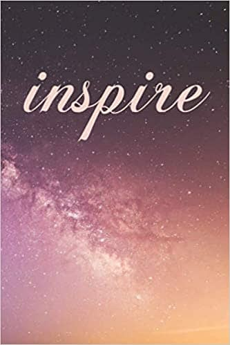 Inspire Lined or Dot Grid Journal